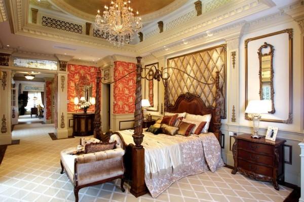 主卧室:卧室以适宜休息为主,方便舒适慵懒,床头的双控开关,配上业主喜欢的壁纸以及暖灯,营造你最爱的懒洋洋空间