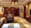 北京华贸城136平中式风格案例