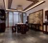 三居室新中式风格装修设计