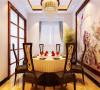 中海金石公馆126平中式风格案例