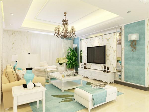 这是一套府上和平府上和平147㎡三室两厅1厨2卫的户型户型,设计方案为地中海风格。