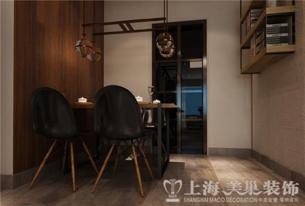 昌建誉峰128平米3室2厅北欧风格装修样板间-餐厅效果图