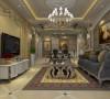 卢浮宫馆110平欧式三居