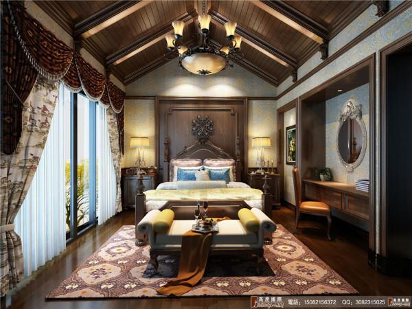 悠山郡卧室细节效果图---成都高度国际装饰设计
