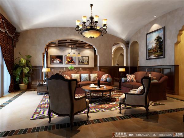 悠山郡休息区细节效果图---成都高度国际装饰设计