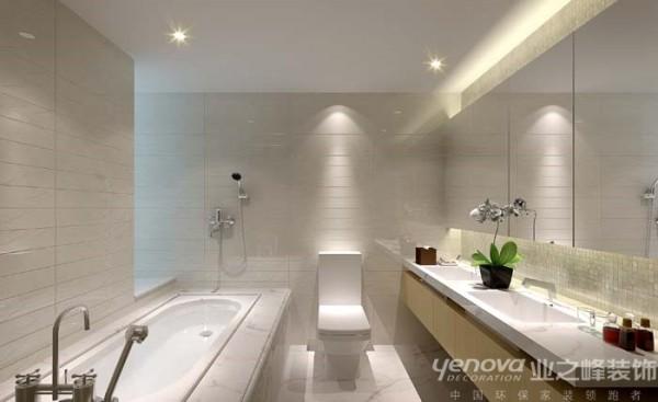 业之峰装饰公司在设计卫生间时,主要是功能方面的考虑。