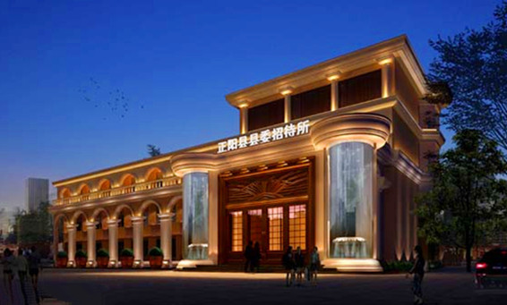 酒店整体外观大楼设计