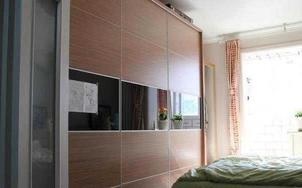 卧室衣柜细节