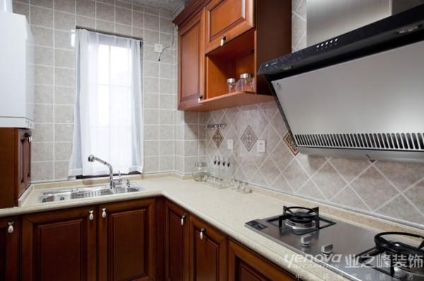 兰州业之峰装饰--厨房效果图
