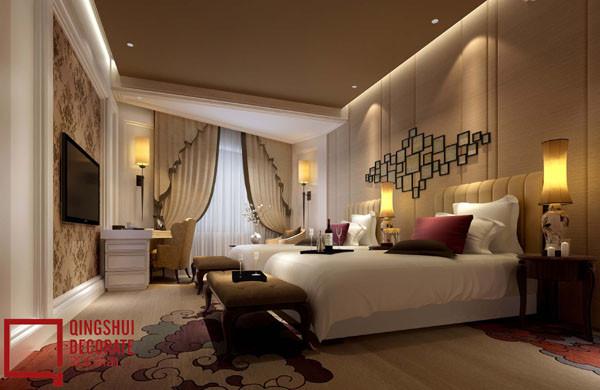 酒店客房设计效果图