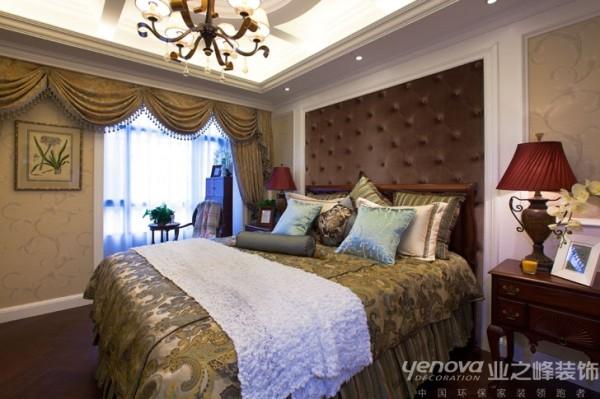 兰州业之峰装饰--卧室效果图