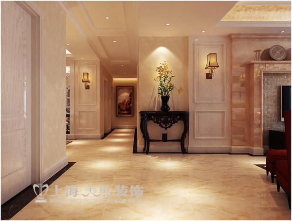 永威五月花城4室2厅简欧风格装修方案---门厅装修效果图