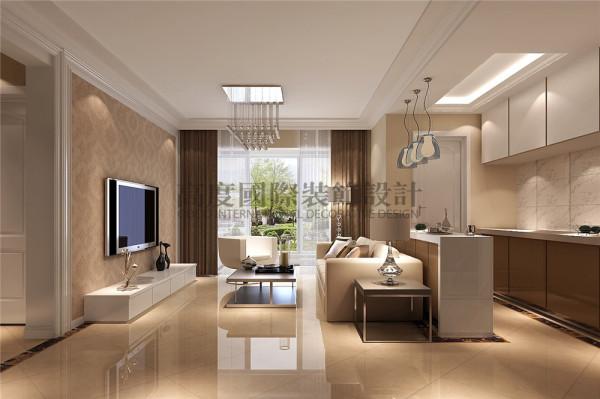 中大君悦金沙装修—成都高度国际—客厅细节效果图