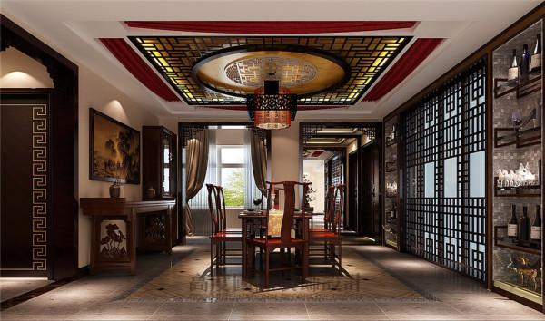中海格林威治城装修—成都高度国际—餐厅细节效果图
