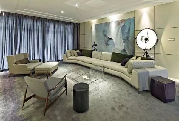 客厅装饰一角