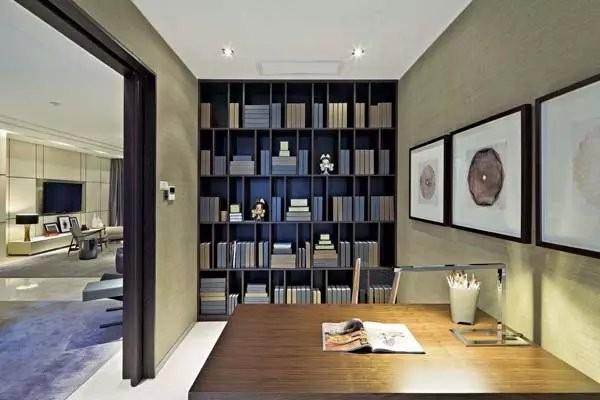 格子式书房