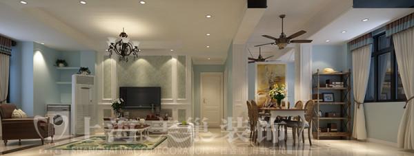 贰号城邦89平三室两厅现代简约装修效果图---客厅装修效果图