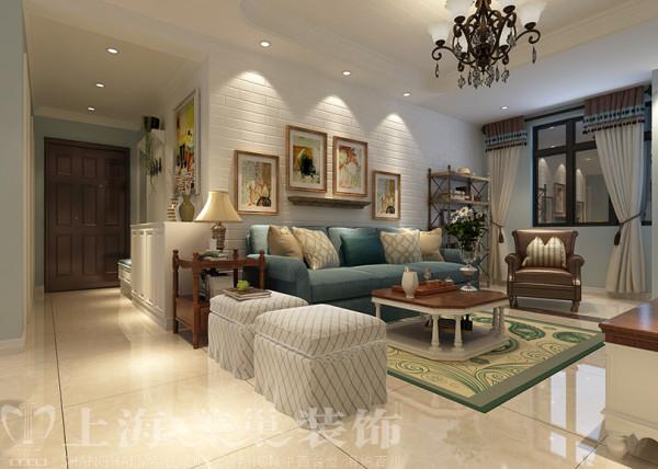 贰号城邦89平三室两厅现代简约装修效果图--沙发背景墙装修案例