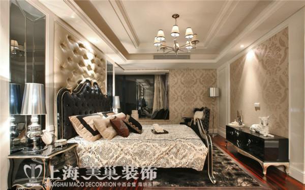卢浮公馆189平复式四室两厅简欧风格装修方案——主卧装修效果图