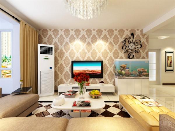 本案为春华里标准层户型2室2厅1厨1卫92㎡的户型。这次的设计风格定义为现代简约风格。