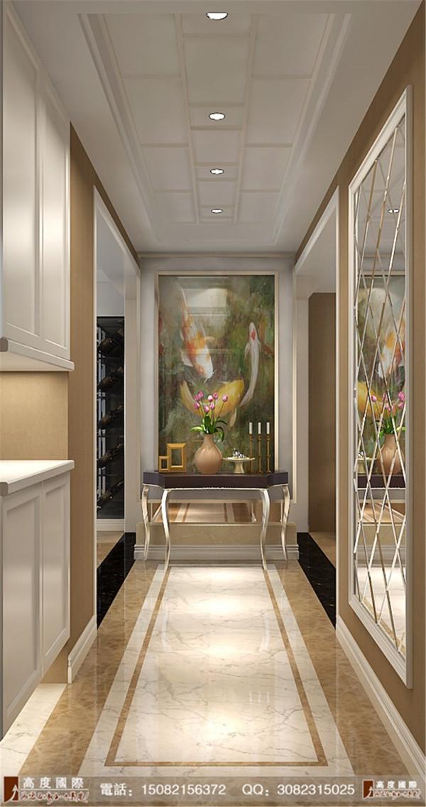 雍湖湾门厅细节效果图----成都高度国际装饰设计