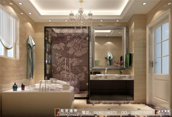 雍湖湾卫生间细节效果图----成都高度国际装饰设计