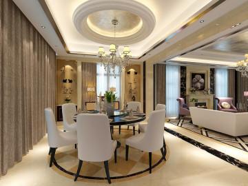 三层独栋别墅完美演绎欧式古典
