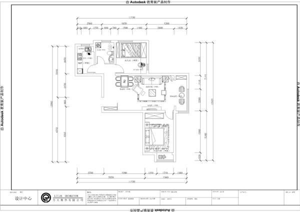 一进入户门是餐厅客厅一体式带有一个客厅阳台。左手方是厨房、卫生间还有次卧室。客厅对的是主卧室。