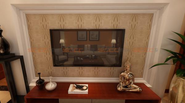 电视背景墙,古老的图腾