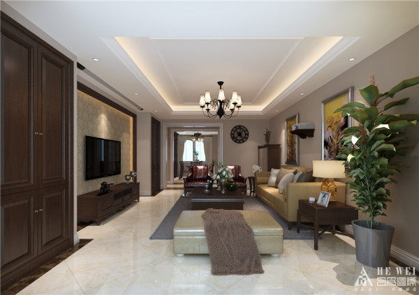 """""""国色"""" 木原色是体现自然的色彩与灰色、白色等搭配.    新中式风格以符合现代人的生活习惯的室内居住空间现实舒适的居住生活."""
