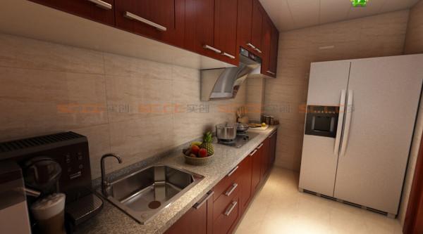 整体厨房简洁大方