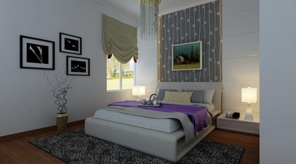 卧室--简洁实用的设计,舒适温馨的造型让工作一天的人们感觉家的舒适与温馨。