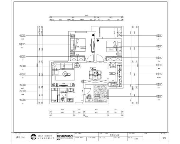 凤凰城三室一厅一厨一卫109㎡,入户门左侧是卫生间,右侧是客卧室,在往前走就是客厅和餐厅, 客厅和餐厅进行了合理的功能分区,空气畅通,光线明朗。