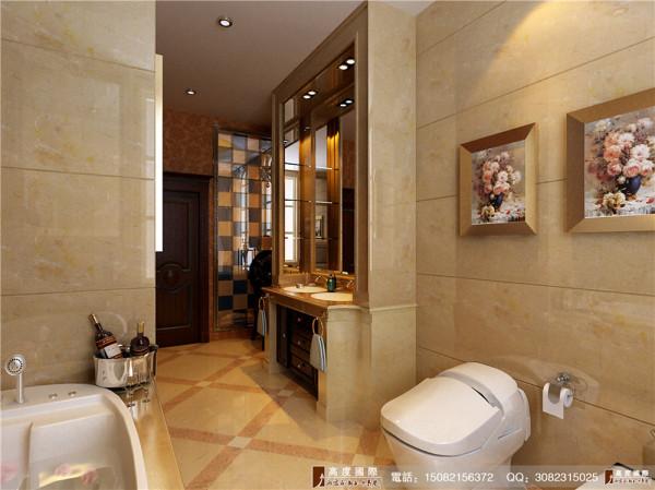 天府世家卫生间细节效果图---高度国际装饰设计