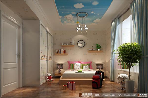 天府世家儿童房细节效果图---高度国际装饰设计