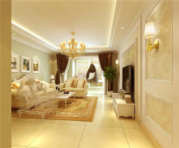 业主是一对退休老夫妇。设计需求:简约欧式装修风格,主次卧室均需要有写字台,室内空间充分合理运用。