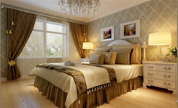 卧室设计: 设计理念:卧室门的造型设计,包括房间的门和各种柜门,既要突出凹凸感,又要有优美的弧线,两种造型相映成趣,风情万种