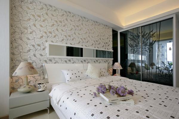 卧室设计时尚,前卫,温馨。