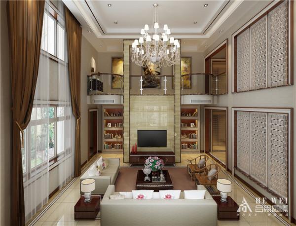 """新中式""""景观设计主要选用能代表华夏文明的几种色彩,即所谓的""""国色"""" 木原色是体现自然的色彩与灰色、白色等搭配.    新中式风格以符合现代人的生活习惯的室内居住空间现实舒适的居住生活."""