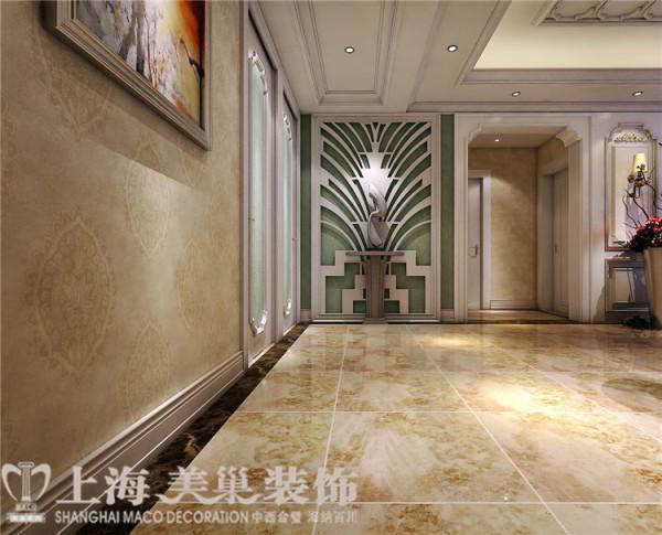 卢浮公馆120平3室2厅简欧风格装修效果图——门厅装修效果图