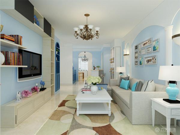 本方案是来自国风星苑两室两厅一厨一卫105㎡的户型,整体的设计风格采用的是地中海,地中海风格的家具以其极具尽河里田园风情及柔和色调的搭配很快被地中海以外的大部分人群所接受。