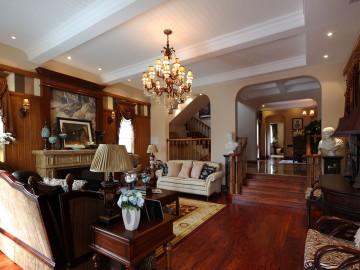 成都棠湖泊林城美式风格样板房