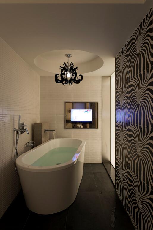 简约 V7西园 卫生间图片来自紫禁尚品设计师李擎在V7西园现代简约设计案例的分享