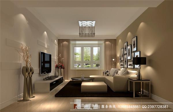 素雅与时尚结合 高度国际 摩登居 客厅