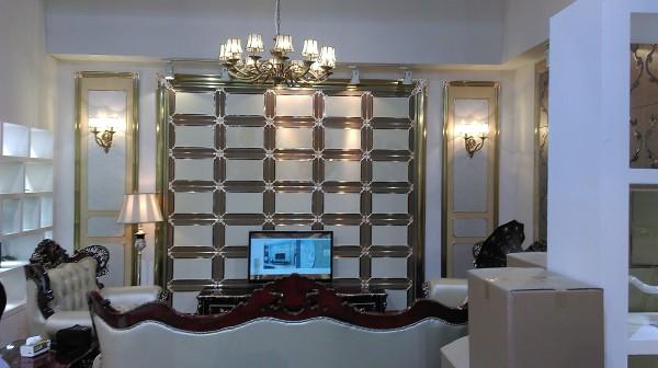 展厅模拟客厅整体效果