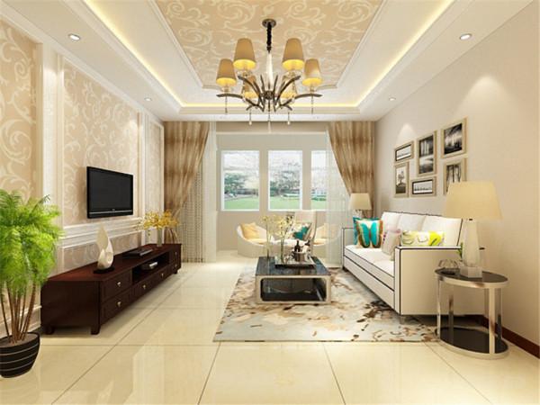 客厅的窗户也是比较多的,而且跟吧台和入户门形成一条线,所以这个空间的通风和采光是非常好的,有助于室内的空气新鲜。