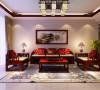 海棠湾三室两厅中式风格