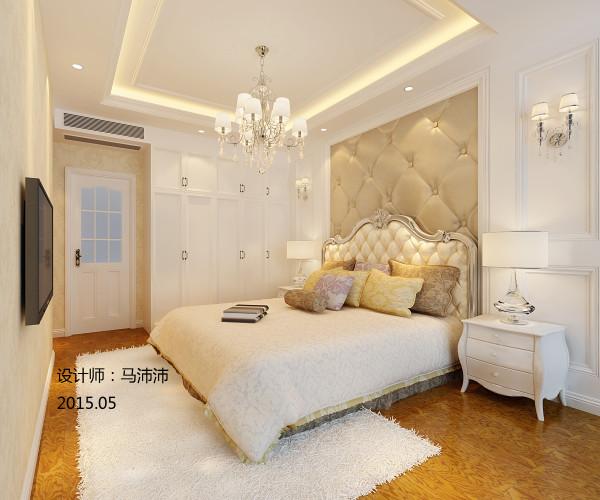 结合欧式风格的装修元素及现代风格的生活 元素,使得整个居住空间简洁大气贴近自然。