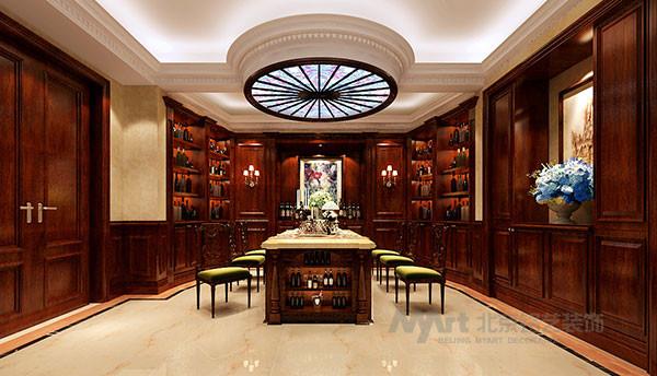 一般来说,最理想的酒窖应该是在地下内,由于酒品贮藏功能的特殊性,酒窖的设计和安排讲究科学性,万万不能随心所欲