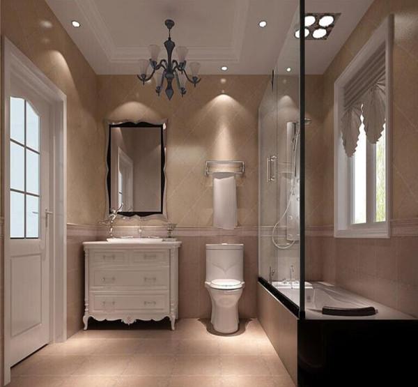 咖色系的地板,暖灰色的墙面,横条壁纸的背景墙,配以白色的家具和极具简约风格的灯具,使整个空间达到了高度的统一和融合。